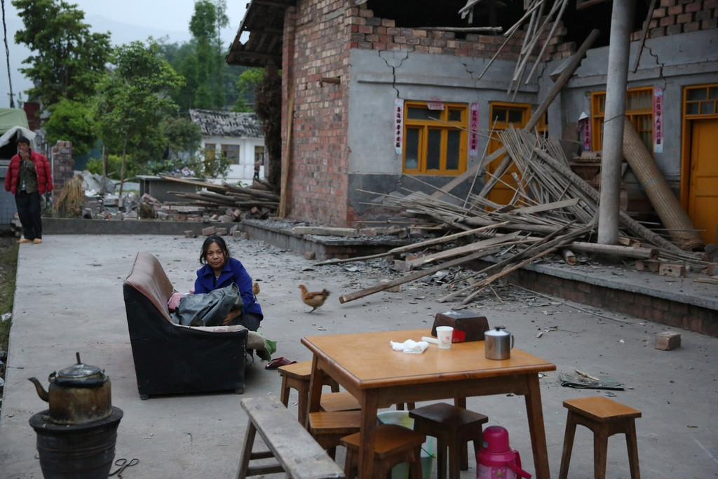 Magnitude 7 Earthquake Hits China's Sichuan Province 34886