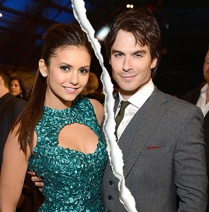Nina Dobrev and Ian Somerhalder broke up after three years of dating 34926