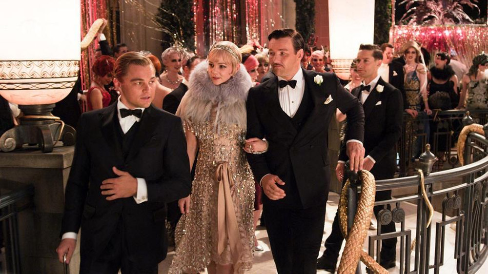 The film is to be expected from the Moulin Rouge director Baz Luhrmann, The Great Gatsby, opens this weekend. 34946