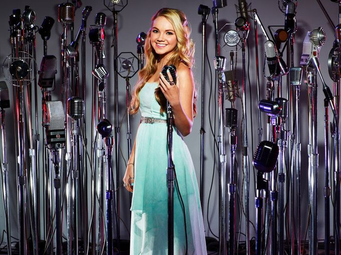 Danielle Bradbery - The 16-year-old talent is vocal intensity all over sweet smiles. 34957