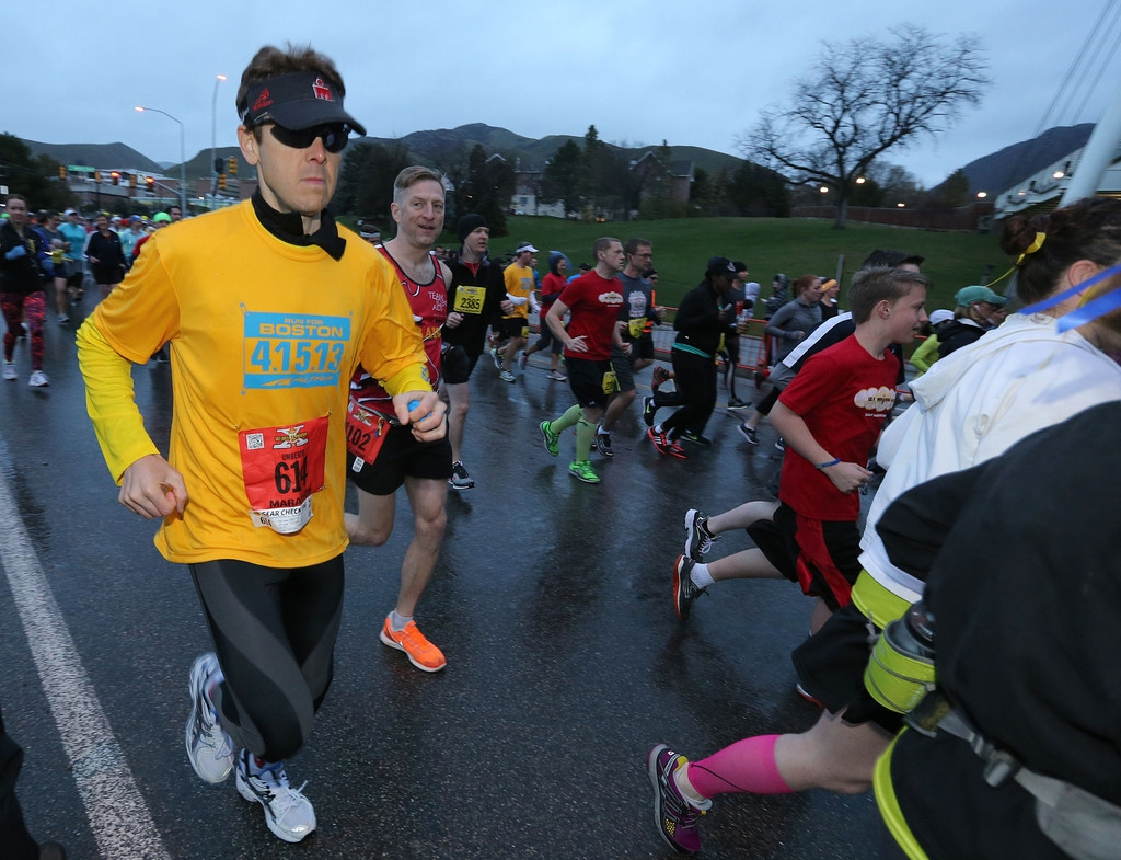 Salt Lake City Hosts Marathon Under Stepped Up Security Measures 35195