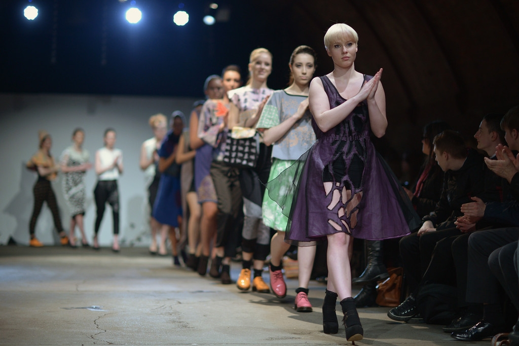 Students From The Glasgow School Of Art Hold Their Annual Fashion Show 35266