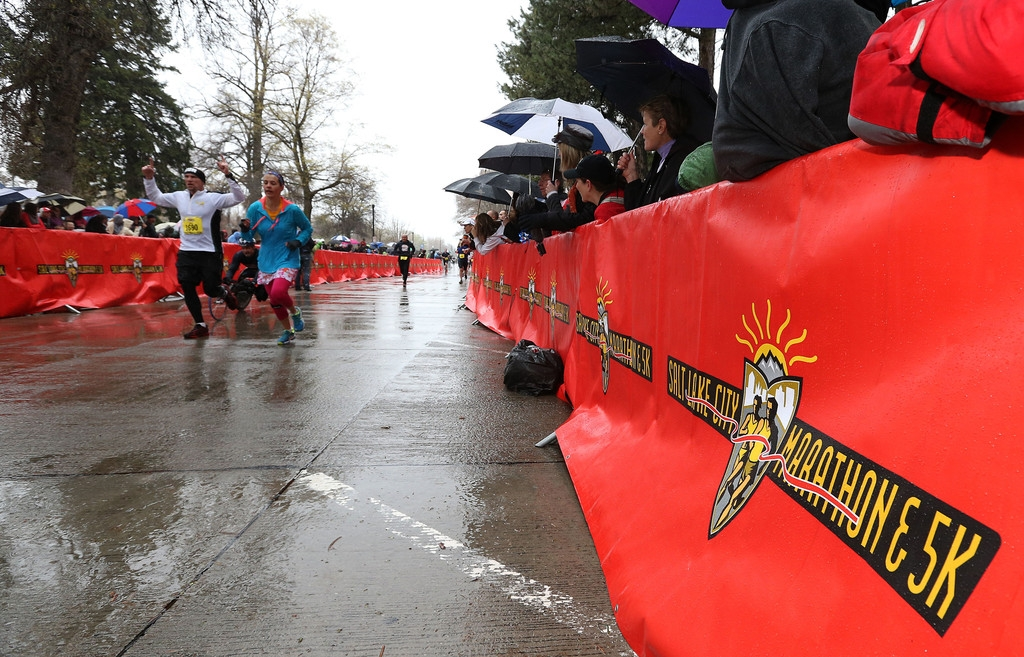 Salt Lake City Hosts Marathon Under Stepped Up Security Measures 35289