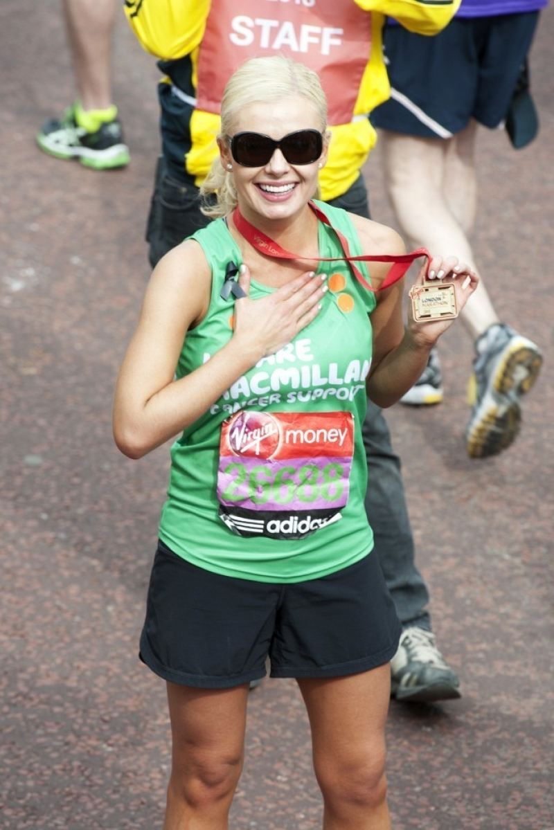 Celebs at the Virgin London Marathon 2 35300