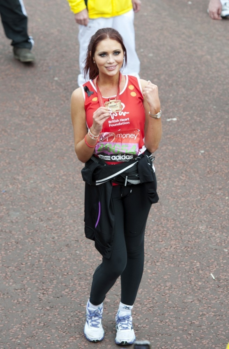 Celebs at the Virgin London Marathon 2 35314