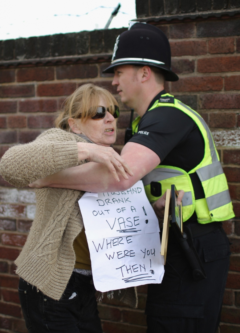 Thousands Of Demonstrators March Through Stafford To Save Stafford Hospital F... 35407