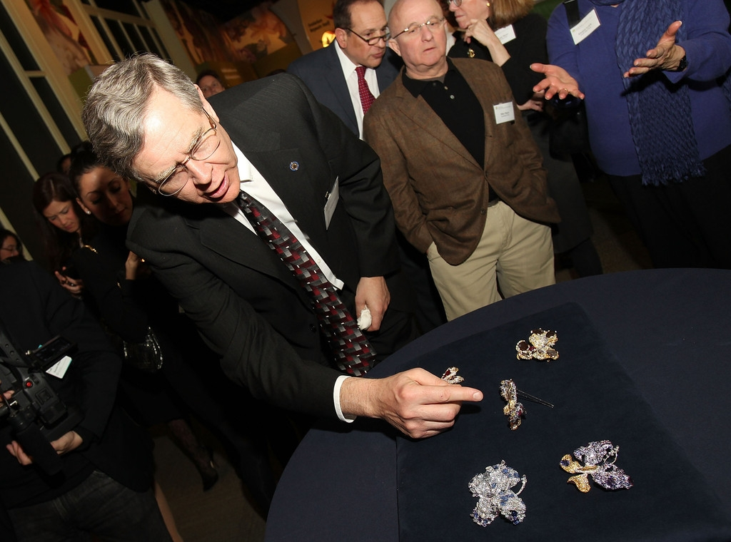 CINDY CHAO Royal Butterfly Brooch Accessioned Into The Smithsonian - Reception 35530