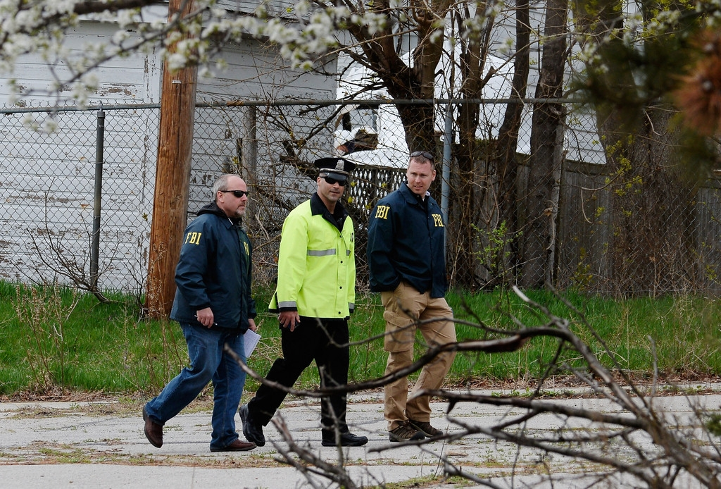 Boston Marathon Bombing Investigation Continues Day After Second Suspect Appr... 35587