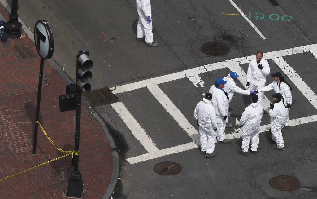 Boston Marathon Bombing Investigation Continues Day After Second Suspect Appr... 35595