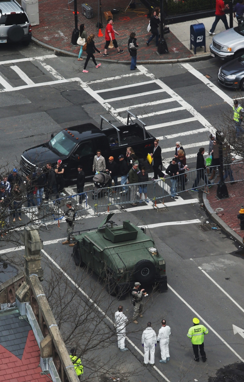 Boston Marathon Bombing Investigation Continues Day After Second Suspect Appr... 35729
