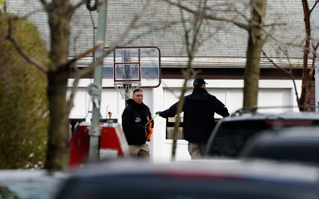 Boston Marathon Bombing Investigation Continues Day After Second Suspect Appr... 35828