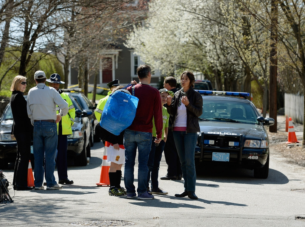 Boston Marathon Bombing Investigation Continues Day After Second Suspect Appr... 35962