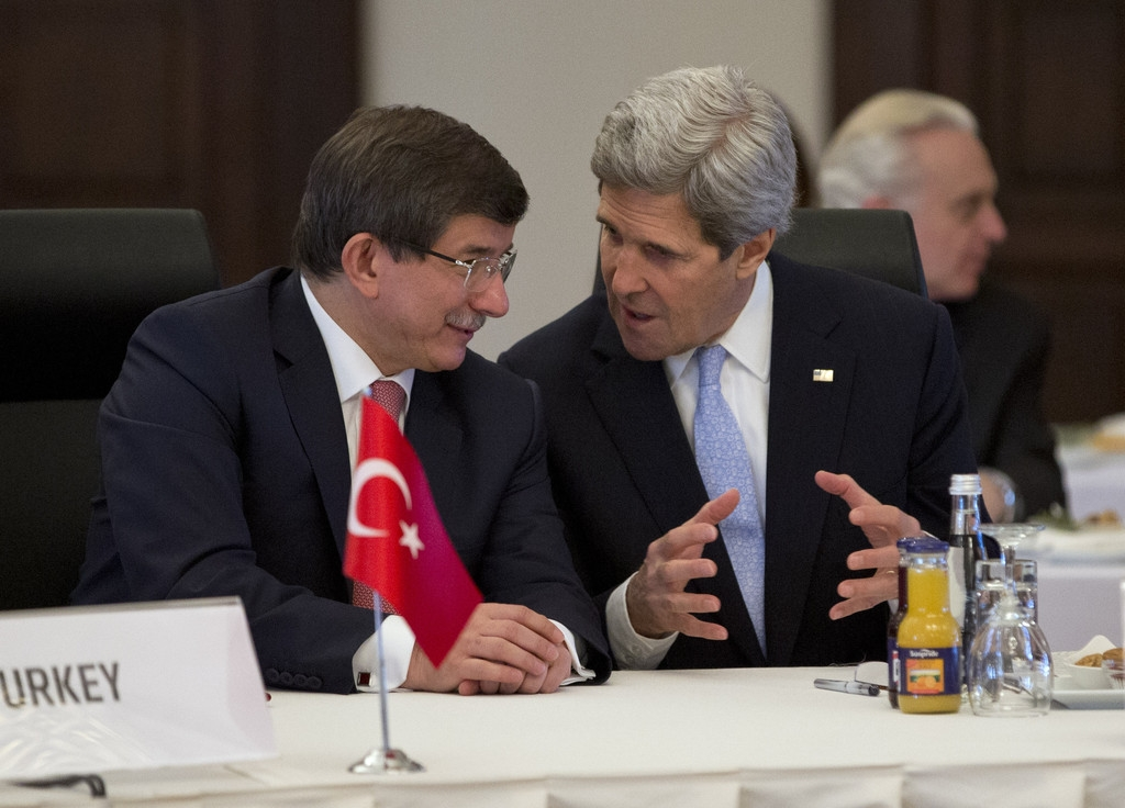 John Kerry Makes Visit To Turkey For Syria Meeting 36101