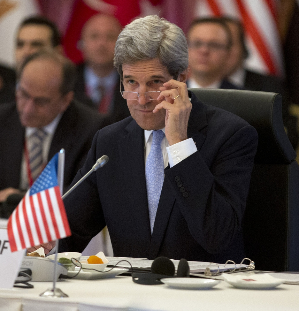 John Kerry Makes Visit To Turkey For Syria Meeting 36123