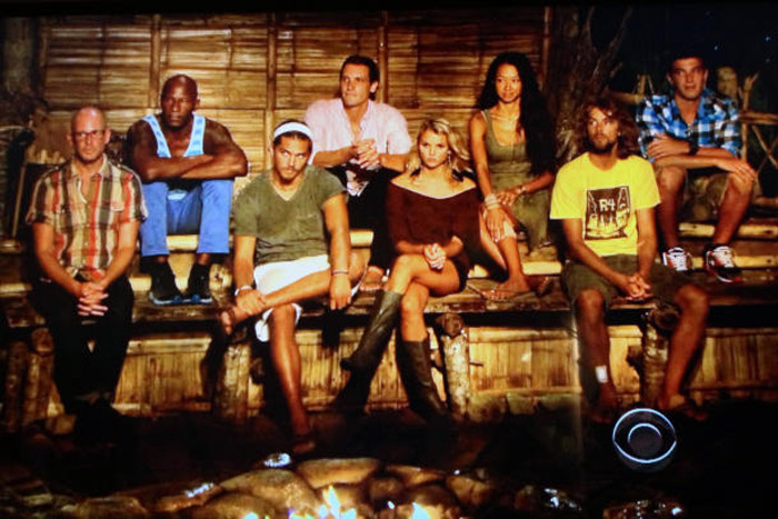 The jury members grilled three finalists on why they will receive $ 1 million. From left, Michael, Phillip, Malcolm, Reynolds, Andrea, Brenda, Erik and Eddie 36392