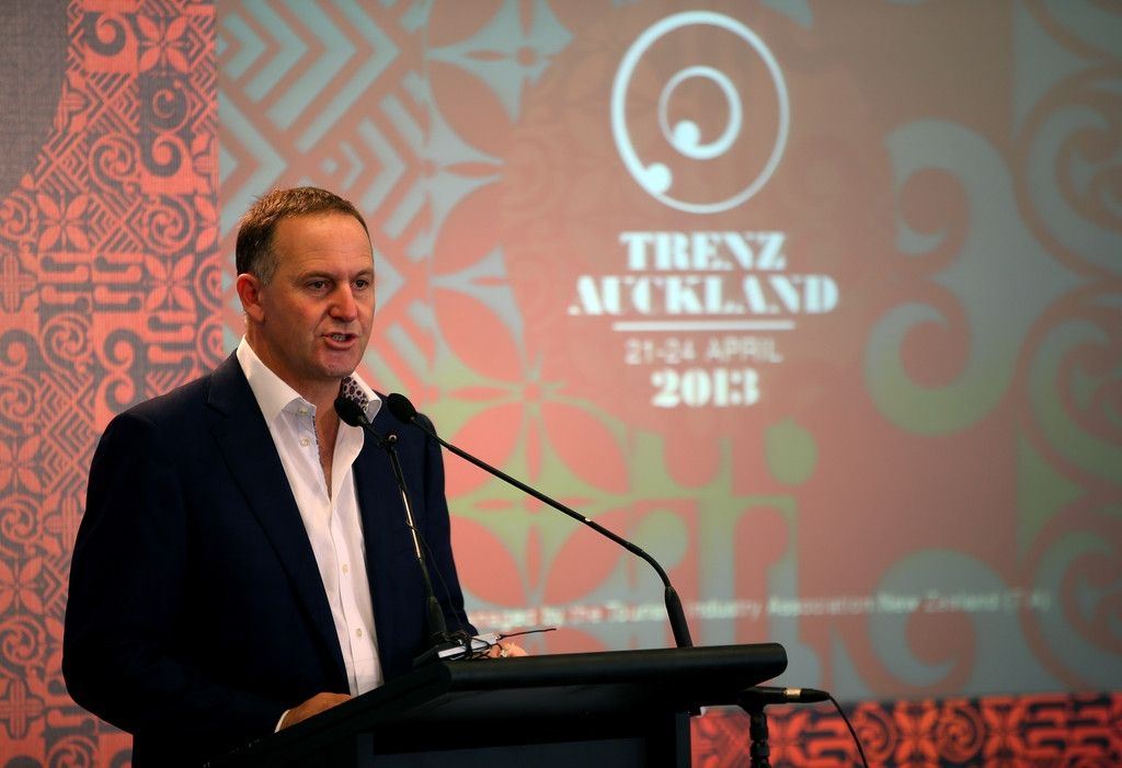 PM John Key Makes Pre-Budget Tourism Announcement 36424