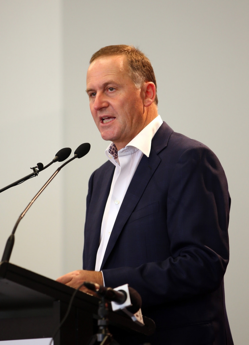 PM John Key Makes Pre-Budget Tourism Announcement 36433