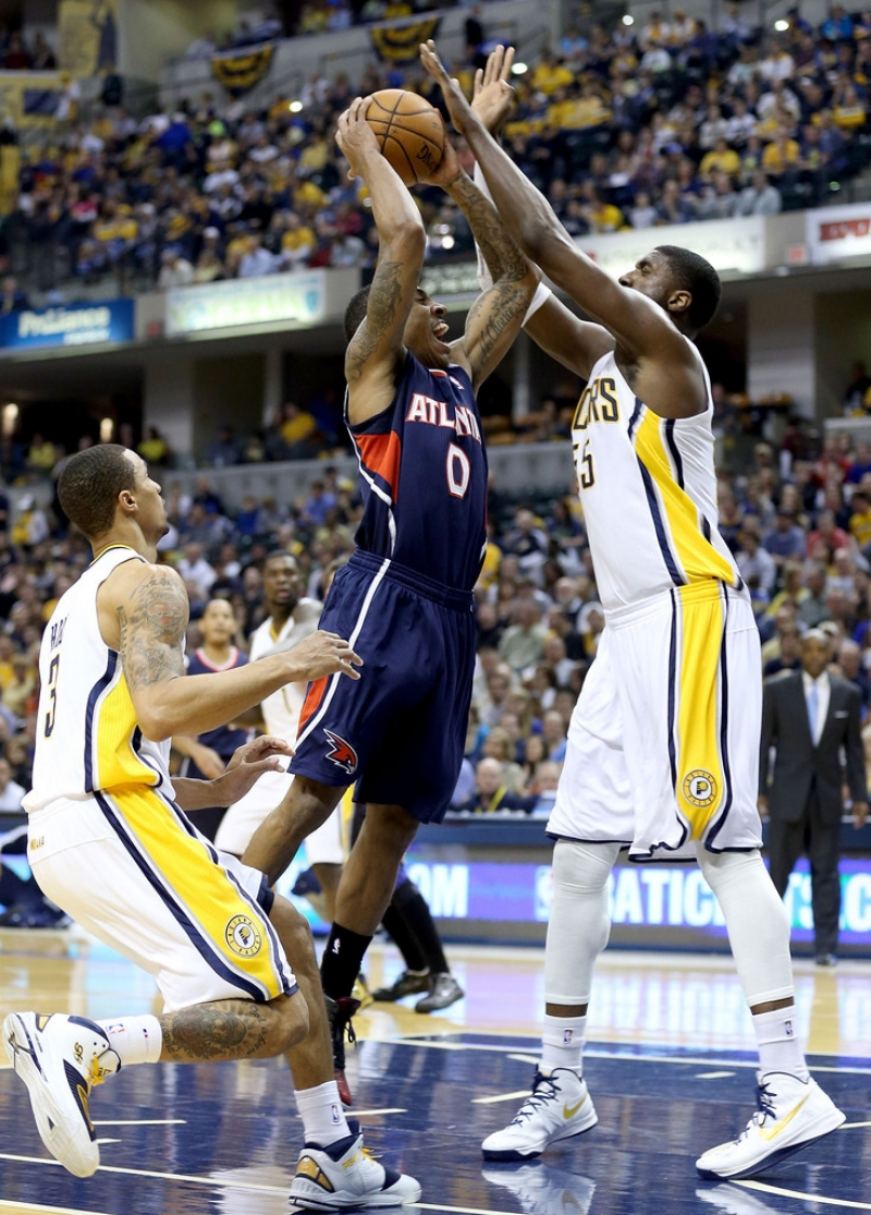 Atlanta Hawks v Indiana Pacers - Game One 36884