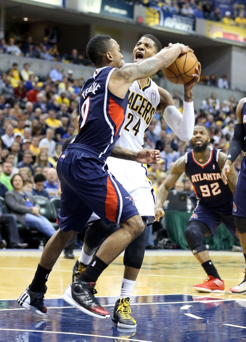 Atlanta Hawks v Indiana Pacers - Game One 37002