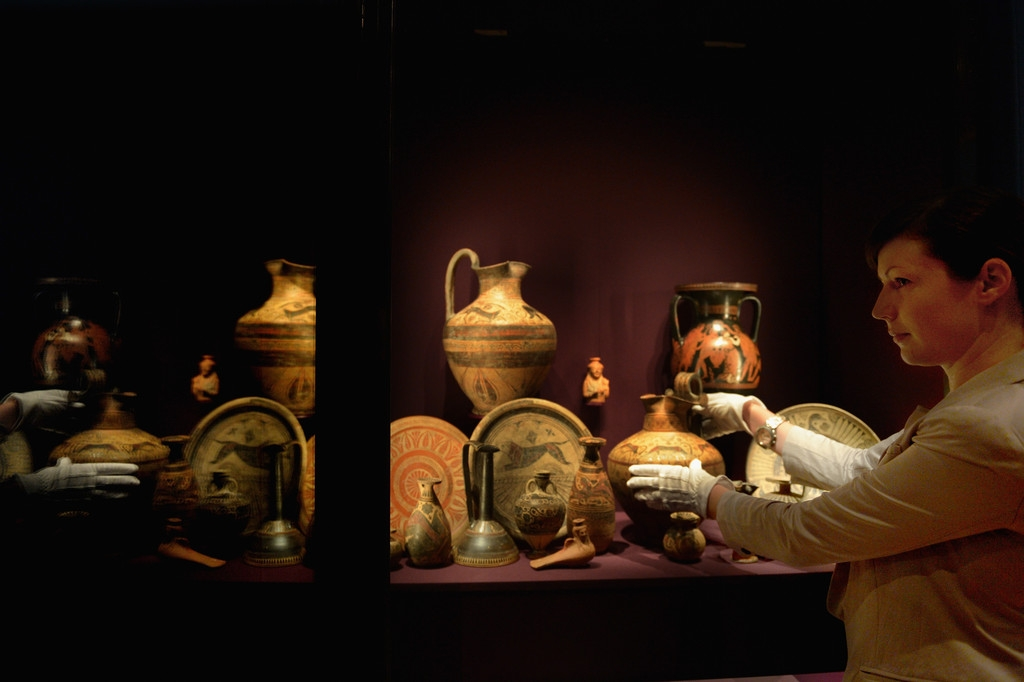 Antiquities And Photographs Go On Display For The Cairo To Constantinople Exh... 37074