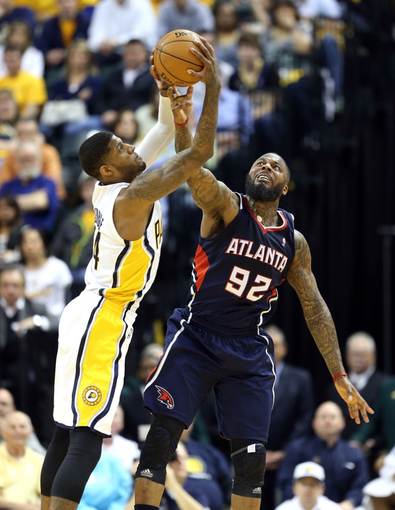 Atlanta Hawks v Indiana Pacers - Game One 37076