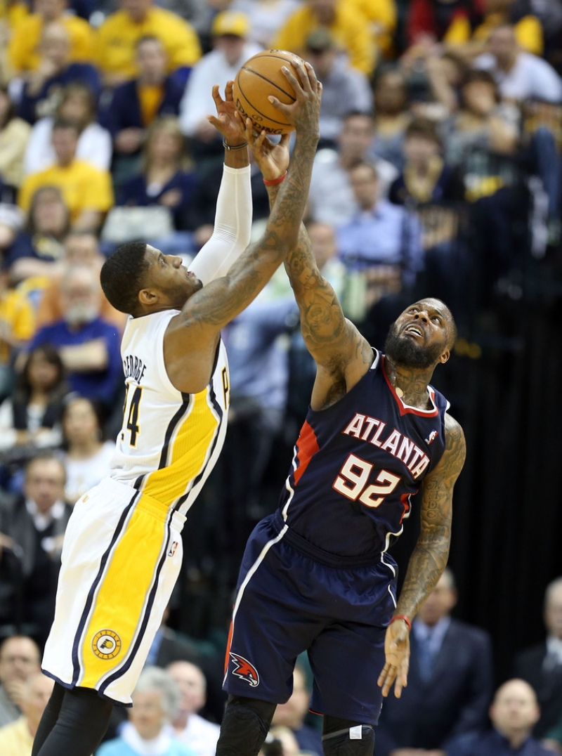 Atlanta Hawks v Indiana Pacers - Game One 37078