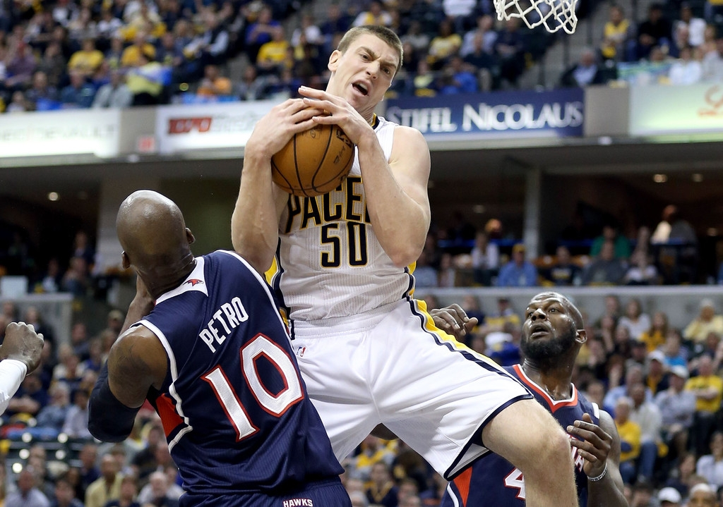 Atlanta Hawks v Indiana Pacers - Game One 37110