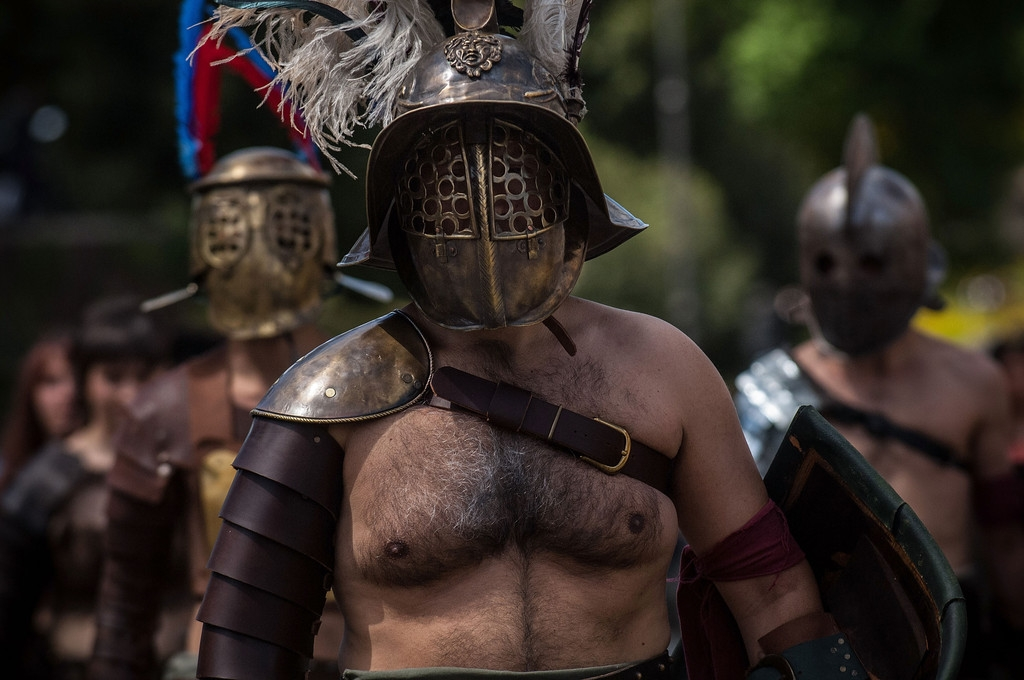 Romans Celebrate the 2,766th Anniversary of Their City 37329