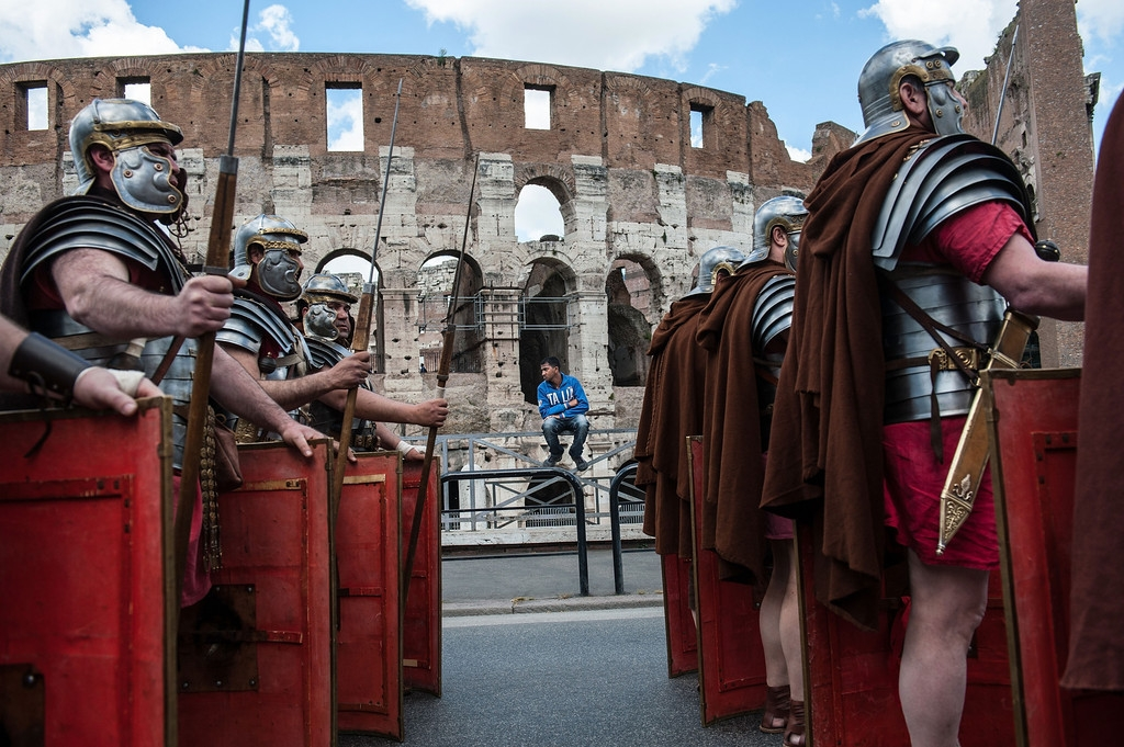 Romans Celebrate the 2,766th Anniversary of Their City 37433