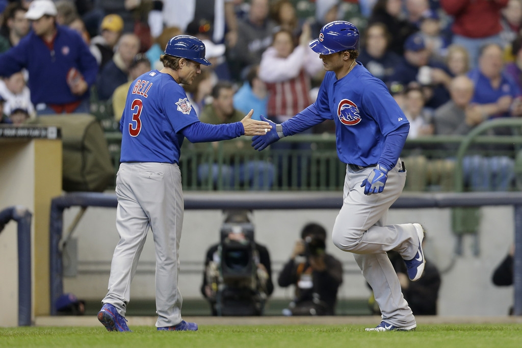 Chicago Cubs v Milwaukee Brewers 37523