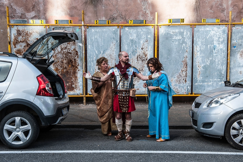 Romans Celebrate the 2,766th Anniversary of Their City 37562