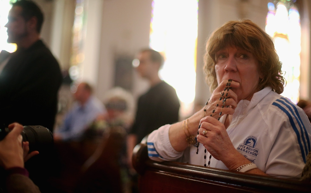 Memorials Services Held in Honor of Boston Marathon Bombing Victims 37729