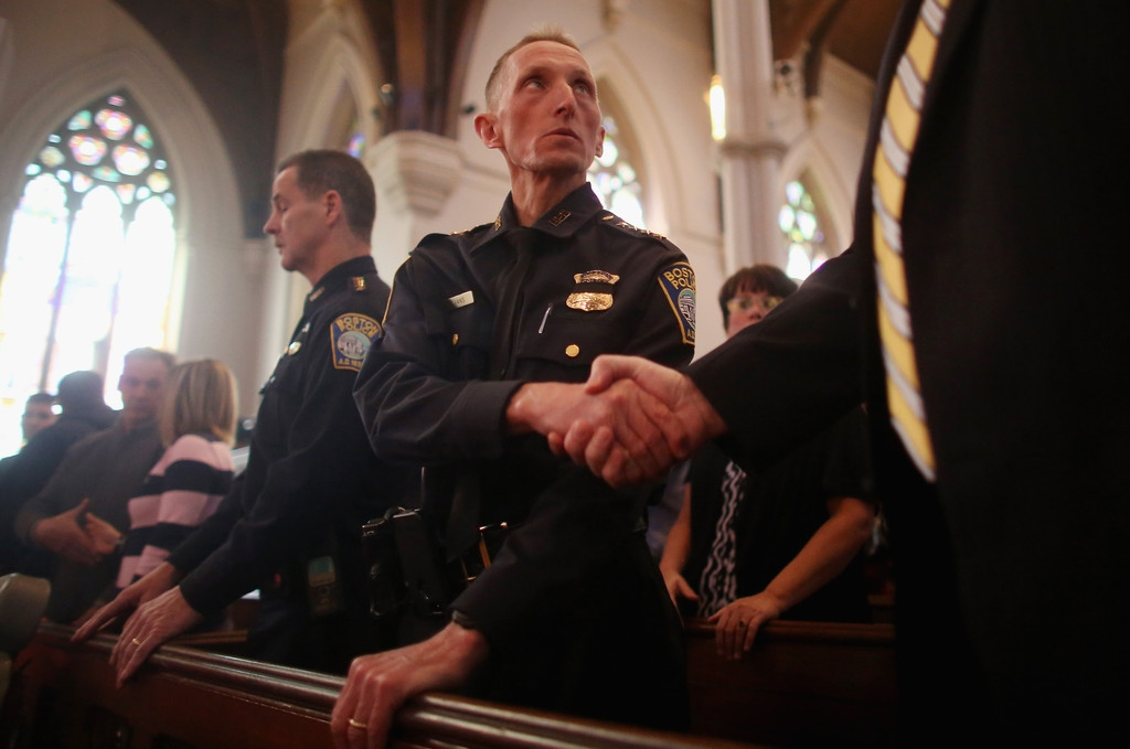 Memorials Services Held in Honor of Boston Marathon Bombing Victims 37758