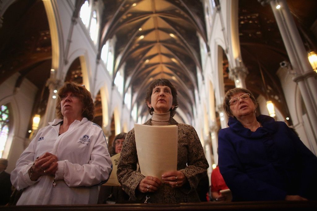 Memorials Services Held in Honor of Boston Marathon Bombing Victims 37787