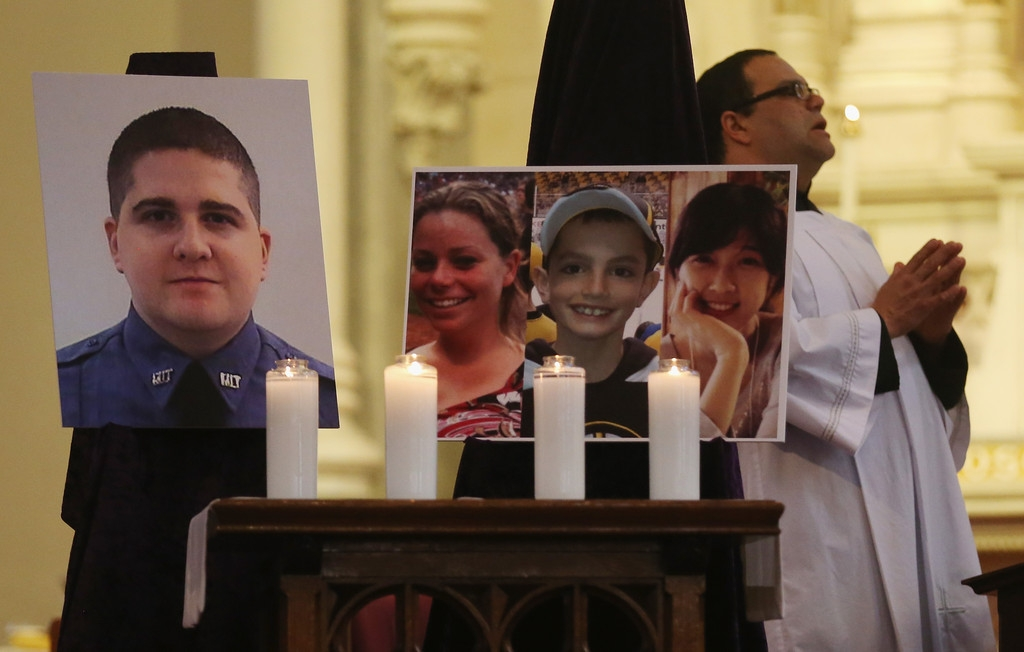 Memorials Services Held in Honor of Boston Marathon Bombing Victims 37794