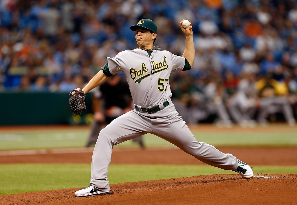 Oakland Athletics v Tampa Bay Rays 37904