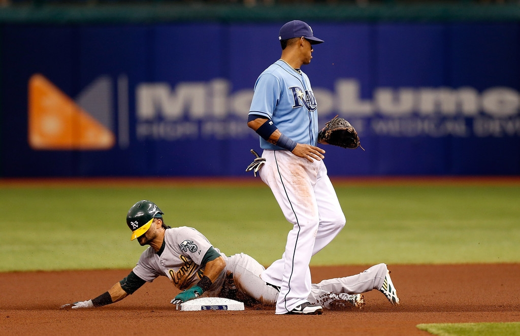 Oakland Athletics v Tampa Bay Rays 37939