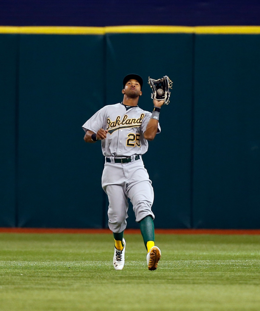 Oakland Athletics v Tampa Bay Rays 37942