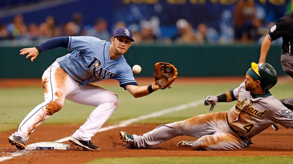 Oakland Athletics v Tampa Bay Rays 37943