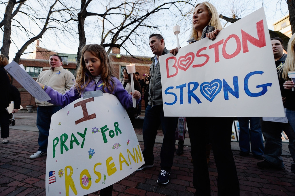 Memorials Services Held in Honor of Boston Marathon Bombing Victims 38048