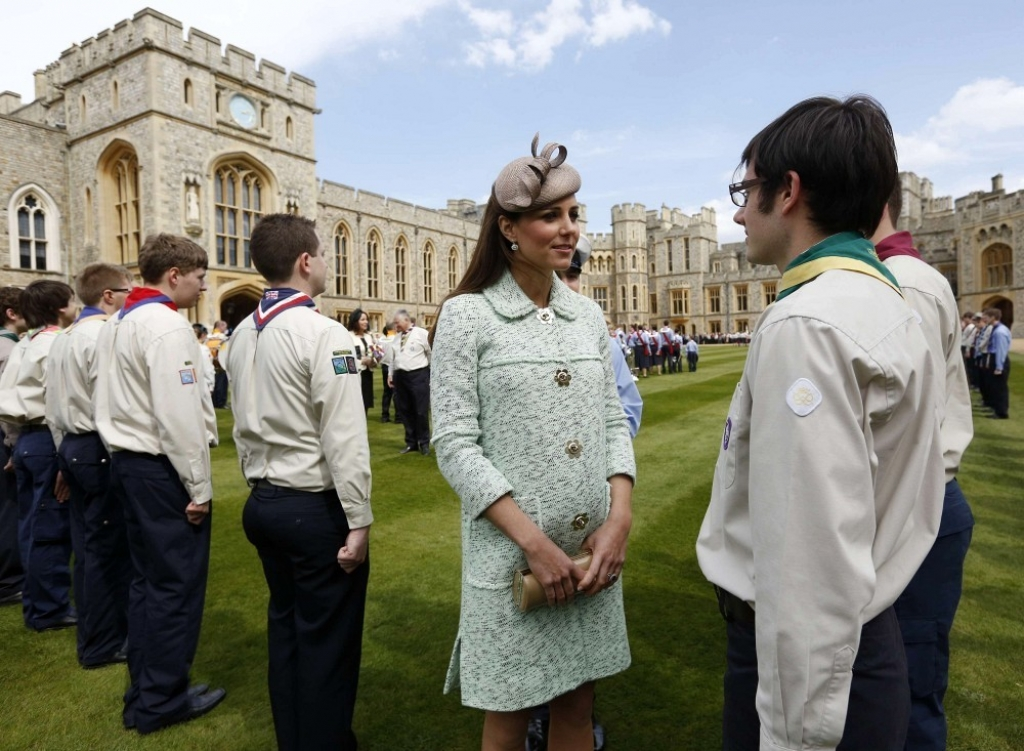 Kate Middleton Celebrates the Scouts 2 38156