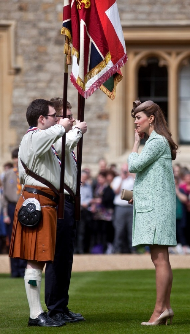 Kate Middleton Celebrates the Scouts 38162