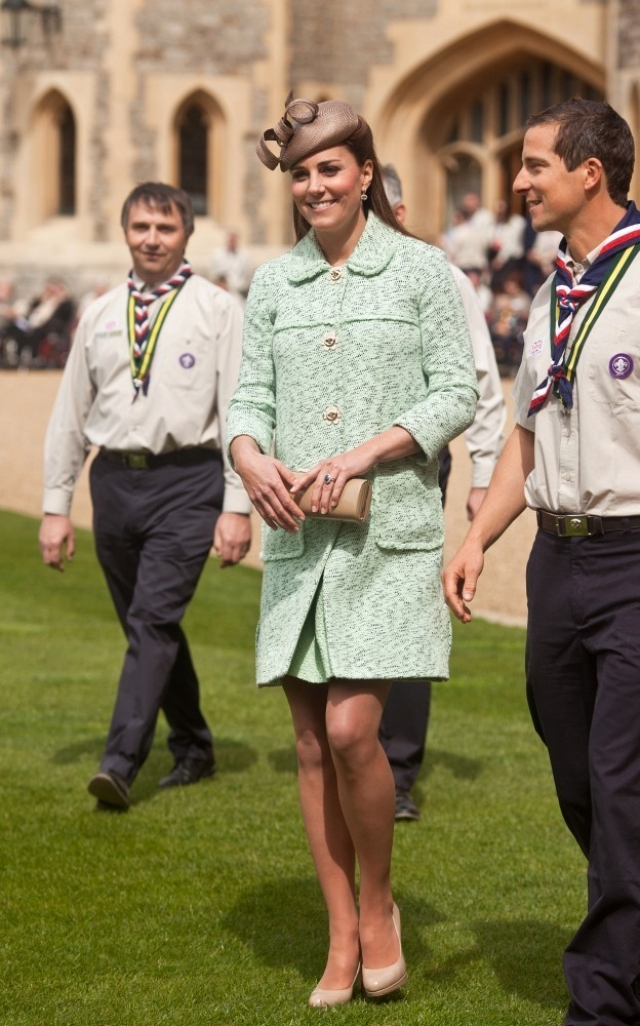 Kate Middleton Celebrates the Scouts 38177