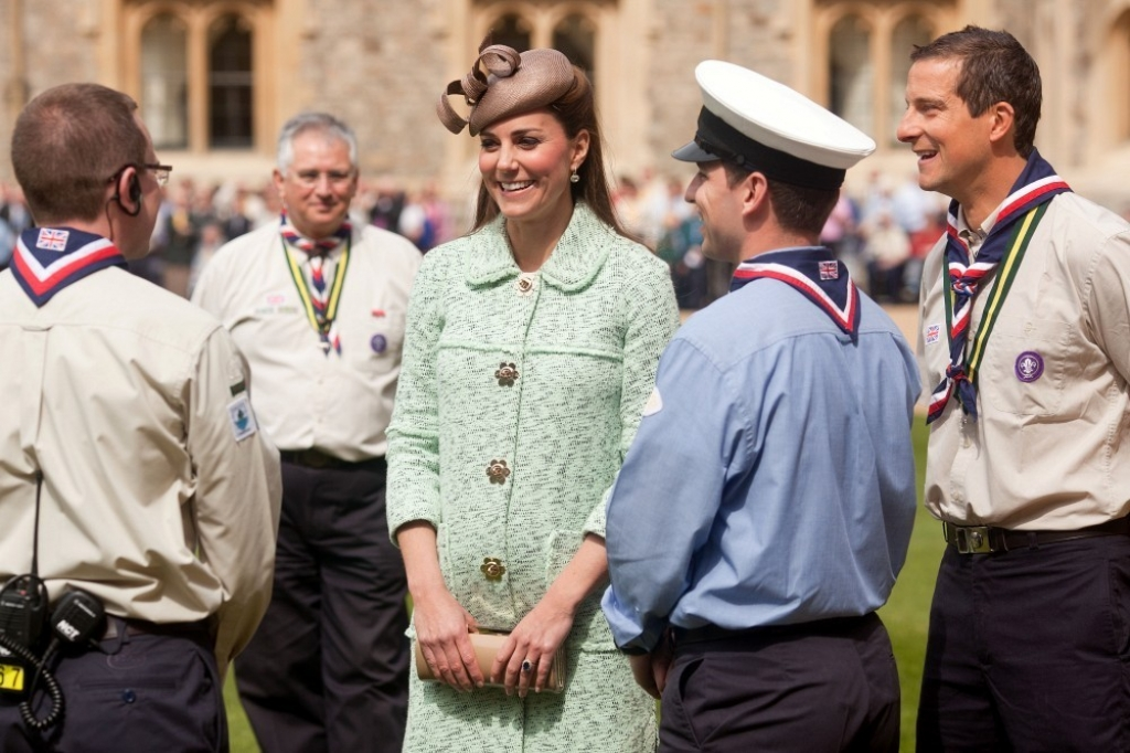 Kate Middleton Celebrates the Scouts 38190