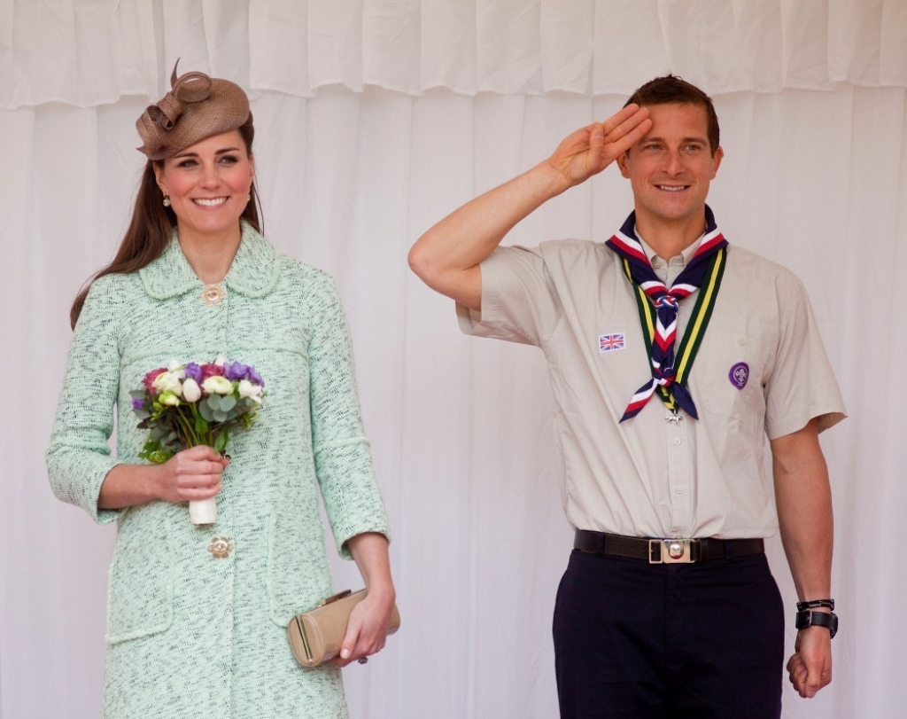 Kate Middleton Celebrates the Scouts 38214