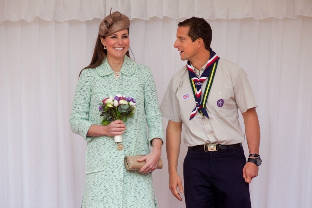 Kate Middleton Celebrates the Scouts 38218