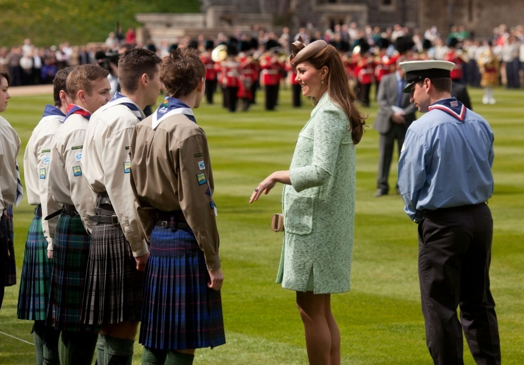 Kate Middleton Celebrates the Scouts 38226