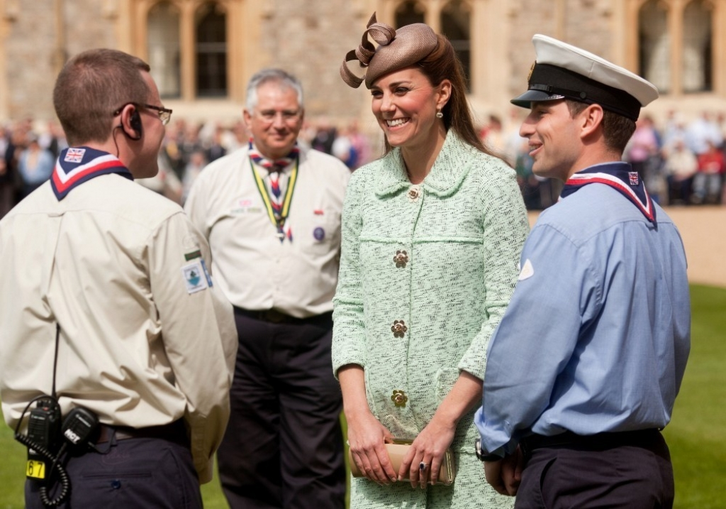 Kate Middleton Celebrates the Scouts 38228