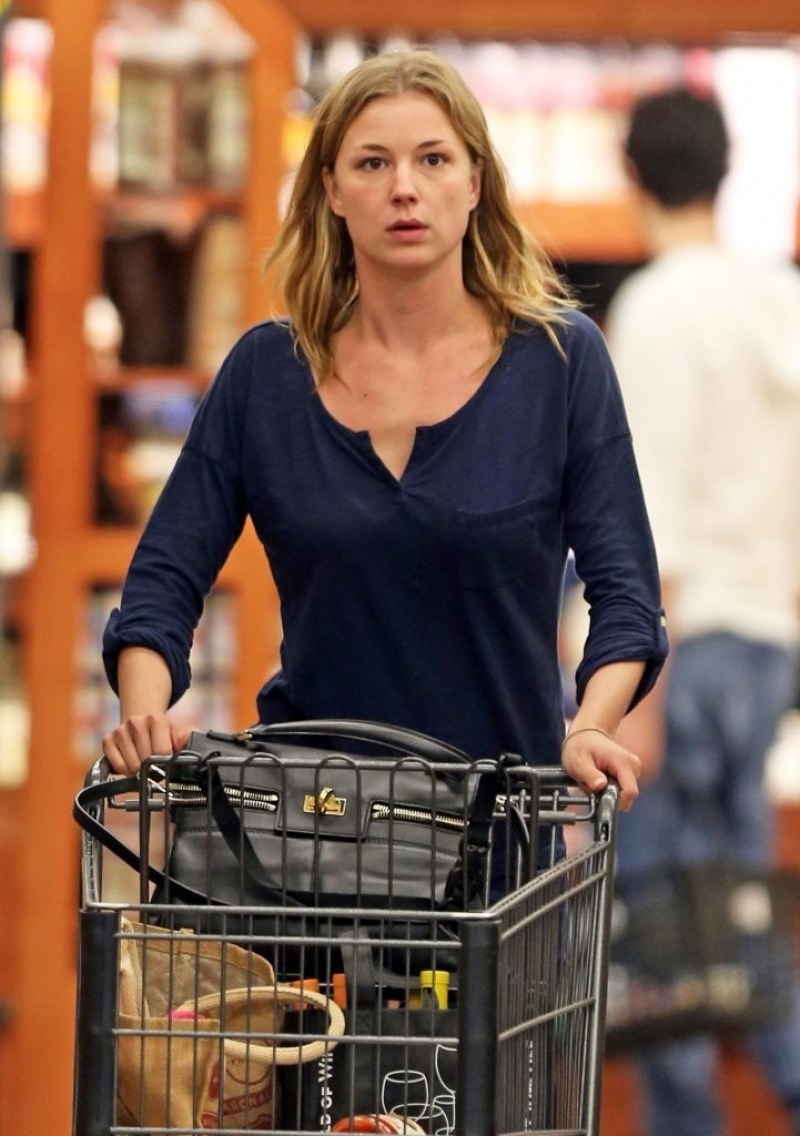 Emily Van Camp Shops at Gelson's 38394