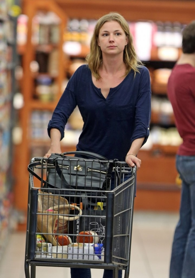 Emily Van Camp Shops at Gelson's 38399